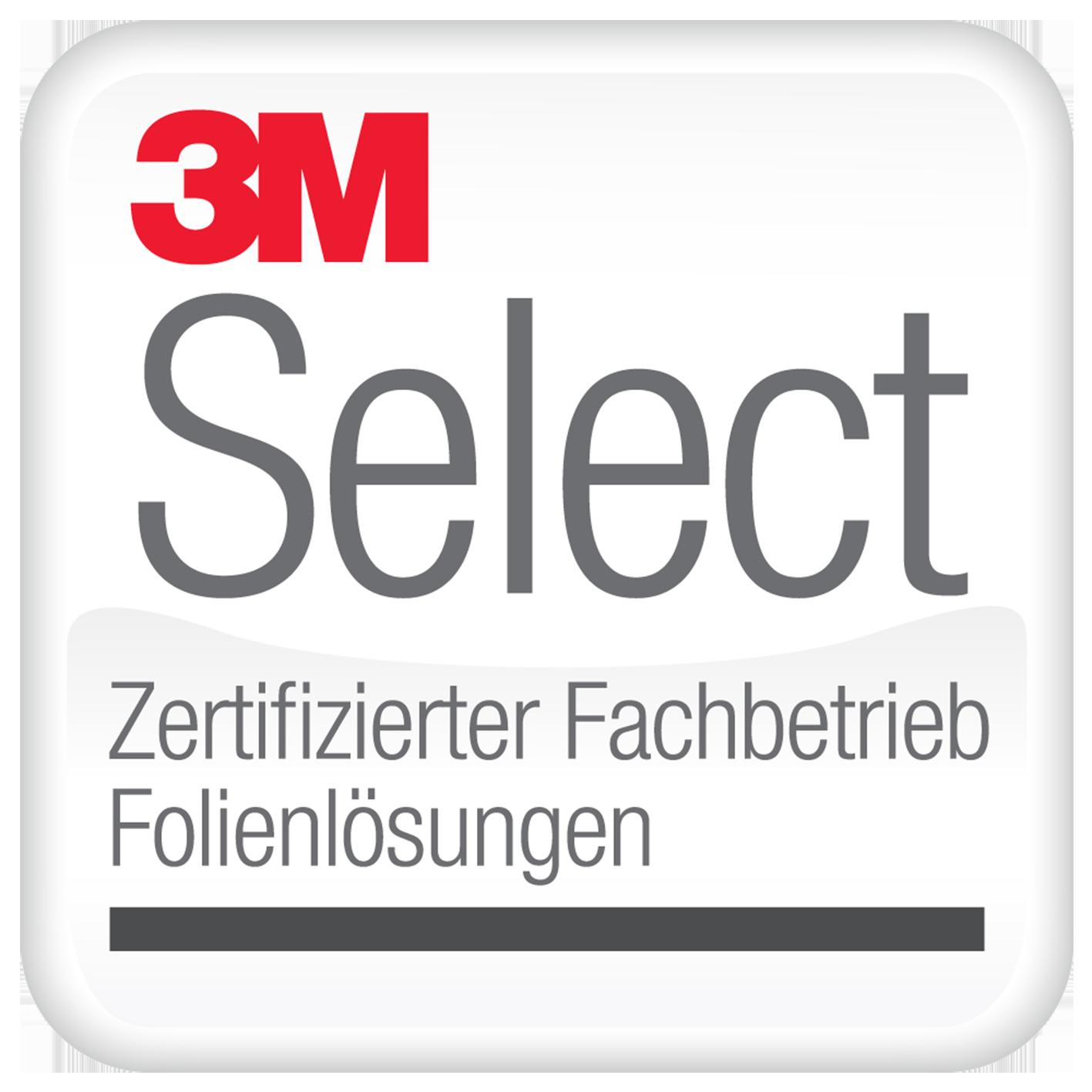 3M Select Logo für zertifizierte Fachbetriebe